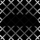 Pyramid Thick Facial Icon