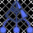 Pyramid Network Icon