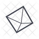 Pyramid Shape Structure Icon