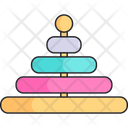 Toy Pyramid Baby Icon