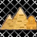 Pyramids Egypt Giza Icon