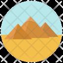 Pyramids Desert Icon