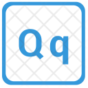 Q Latin Letter Icon