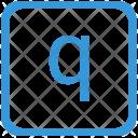 Key Q Lower Icon