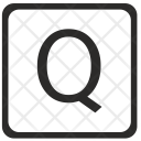 Q Uppercase Letter Icon