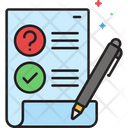 Qa Survey Icon