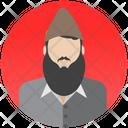 Qari Ulema Muslim Scholar Icon