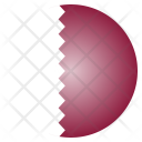 Qatar National Country Icon