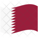 Flag Country Qatar Icon