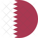 Qatar Flag Country Icon
