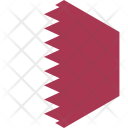 Qatar Flag World Icon