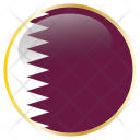 Qatar Country Flag Icon