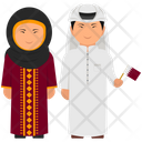 Qatar Outfit Qatari Clothing Qatar Dress Icon