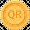 Qatari Riyal Coin Qatari Riyal Business Icon