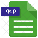 Qcp File Document Icon