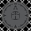 Qibla Compass Islam Icon