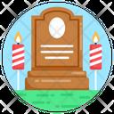 Tombstone Graveyard Grave Icon