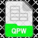 Qpw file Icon