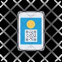 Qr Bitcoin Code Icon
