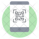 Mobile Code Mobile Qr Barcode Icon