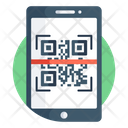 Mobile Barcode Mobile Scanning Qr Code Icon