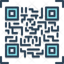 Qr Code Scan Technology Icon