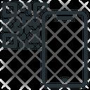 Code Mobile Qr Icon