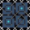 Qr Code Bar Icon