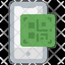 Qr Code Touch Screen Bar Code Icon