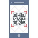 Qr Code Scan Payment Icon