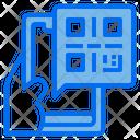 Qr Code App Smartphone Icon