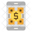 Qr Code Scanning Online Payment Icon
