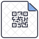 Qr Code Poster Icon
