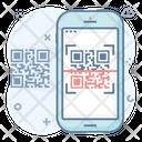 Qr Code Reader Quick Response Code Matrix Barcode Icon