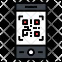 Smartphone Qr Code Icon