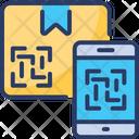 Qr Code Scanner Smartphone Bar Icon