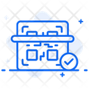 Qr Code Scanner Barcode Upc Icon