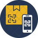 Qr Code Scanner Logistic Box Icon