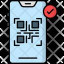 Qr Code Scanner Barcode Data Icon