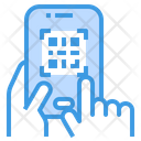 Qr Code Mobile Payment Icon