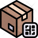 Qr code with box Icon