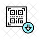 Bar Code Download Icon