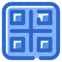 Qr Code Technology Scan Icon