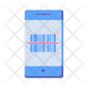 Mobile Barcode Scan Icon