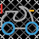 Quad Camo Bike Icon