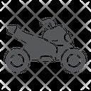 Quad Bike Transport Icon