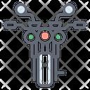Quad Bike Heavy Bike Sports Bike Icon