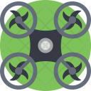 Quadcopter Helicopter Multirotor Icon
