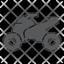 Quadbike Bike Extreme Icon