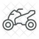 Quadbike Bike Extreme Icon